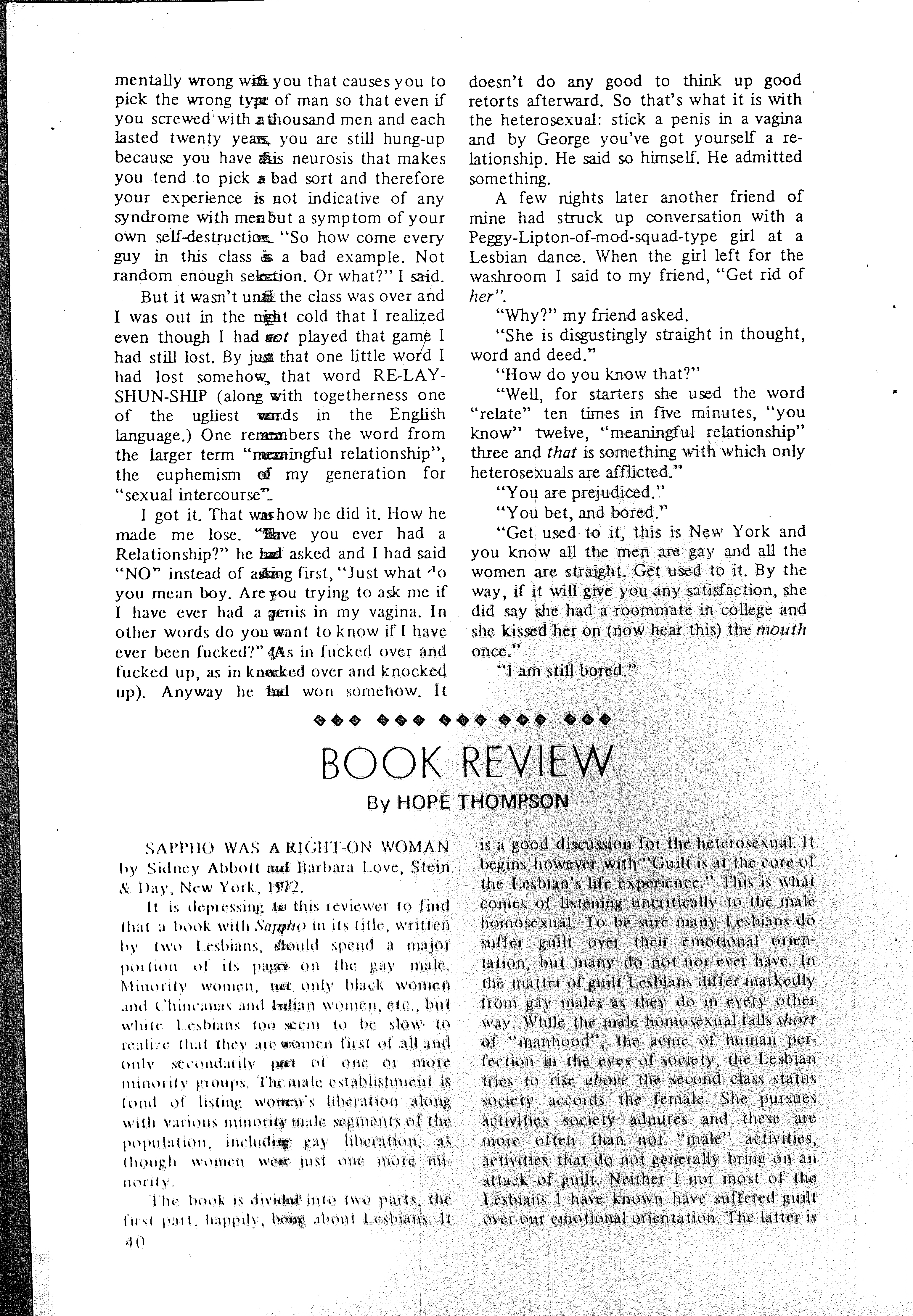 The Ladder, August-September 1972, Vol  16, No  11 and 12